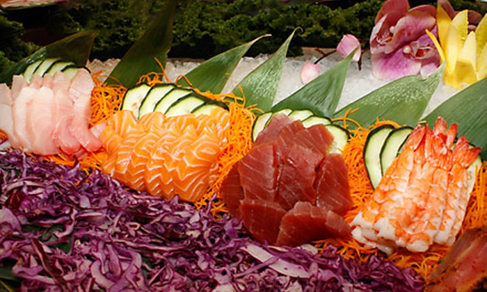 Eat Well Sushi & Grill - Bartlett Corporate Park: $10 for $20 Worth of Modern Japanese Cuisine and Drinks at Eat Well Sushi & Grill
