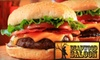 $10 for Burgers at Deadwood Saloon