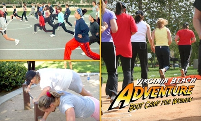 Virginia Beach Adventure Bootcamp - Hampton Roads: $25 for Eight Fitness Classes at Virginia Beach Adventure Boot Camp for Women ($120 value)