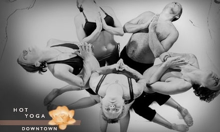 Hot Yoga Downtown Albuquerque - Huning Highland Historic District: $29 for a 30-Day Pass to Hot Yoga Downtown Albuquerque