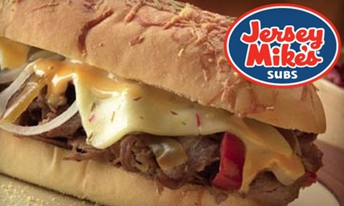 Jersey Mike's Subs - Multiple Locations: $6 for Regular-Size Combo Meal at Jersey Mike's Subs (Up to $11.20 Value)