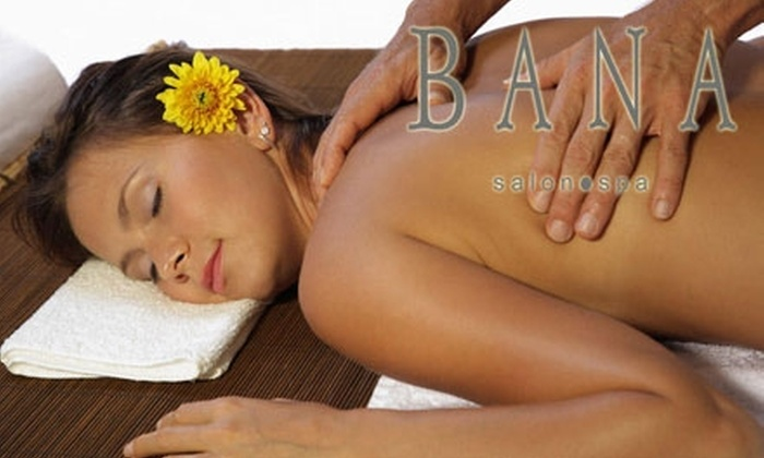 "Bana Salon and Spa - Bryant Pattengill West: $49 for a ""Mini Spa Day"" Package at Bana Salon and Spa (a $145 Value)"
