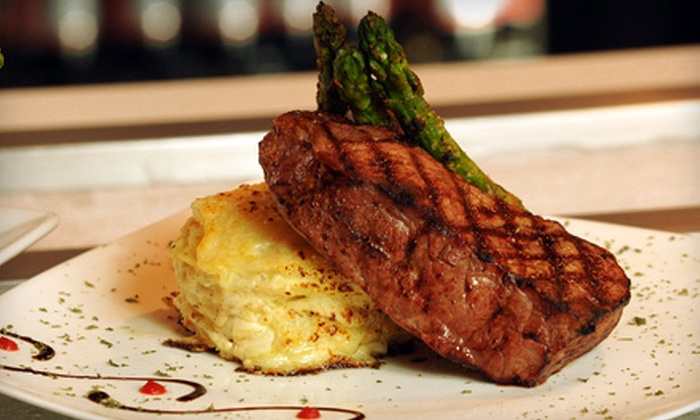 Fire & Ice Restaurant and Bar - Springfield: American Fare for Lunch or Dinner at Fire & Ice Restaurant and Bar (Half Off)