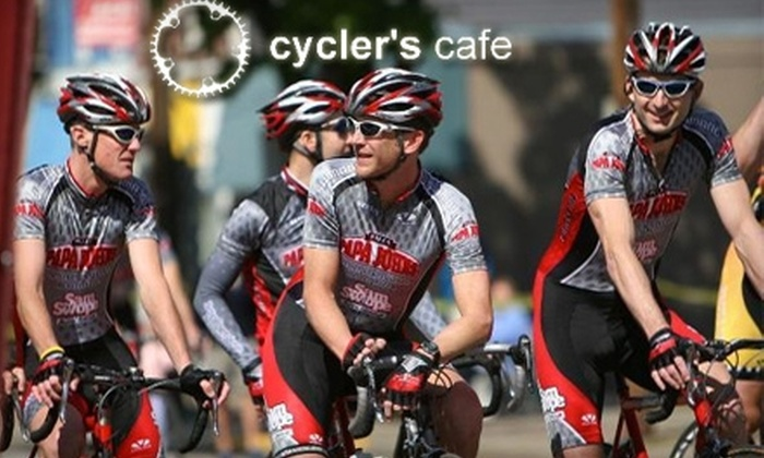 Cycler's Cafe - Cherokee Triangle: $30 for Bike Tune-Up ($60 Value) or $5 for $10 Worth of Café Fare at Cycler's Cafe