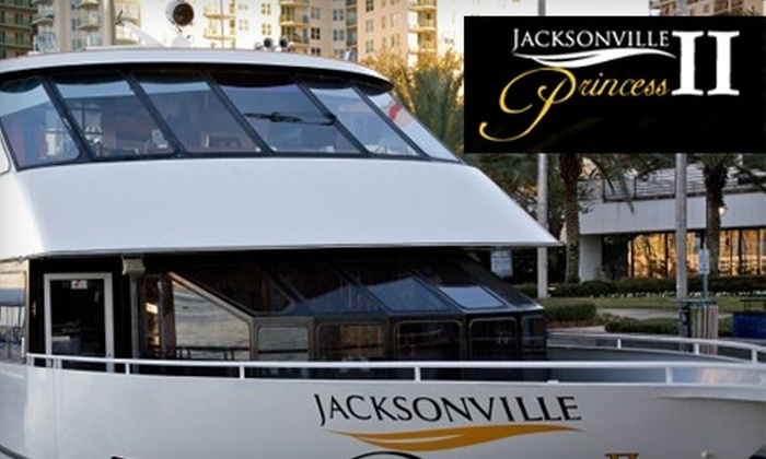 """Jacksonville Princess II - Southside: $15 for Admission and One Drink Ticket to Fourth of July Party Cruise on the """"Jacksonville Princess II"""" ($30 Value)"""