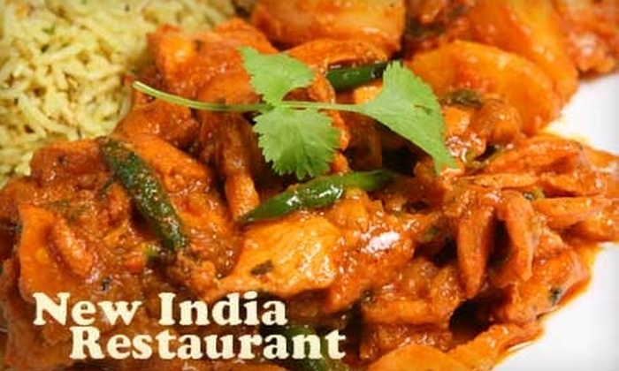 New India Restaurant - The Gables: $10 for $20 Worth of Indian Fare at New India Restaurant