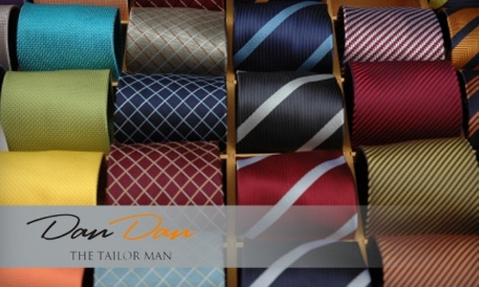 Dan's Clothier and Tailor - Lenexa: $29 for One Men's Italian Handwoven Tie at Dan's Clothier and Tailor in Lenexa