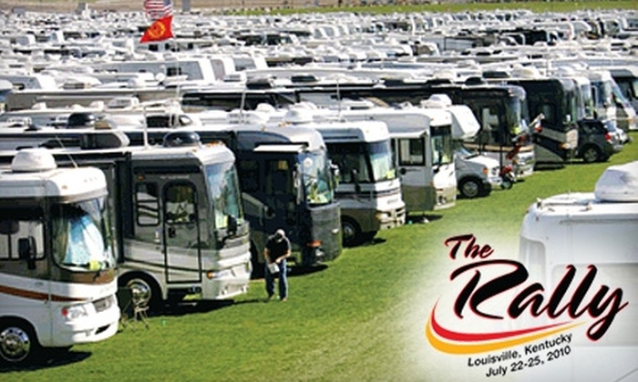 The Rally - Fairgrounds: $5 for a Day Pass to The Rally RV Event at Kentucky Exposition Center ($10 Value)