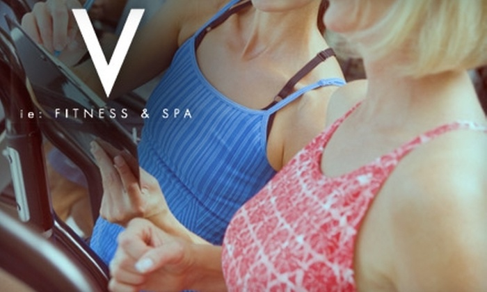 Vie Fitness & Spa - Bach: $35 for Five Spinning or Barre Intensity Classes or One Private Pilates or Personal-Training Session at Vie Fitness & Spa