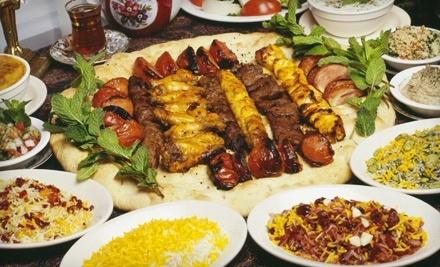 $20 Groupon to Alborz Persian Cuisine - Alborz Persian Cuisine in Austin