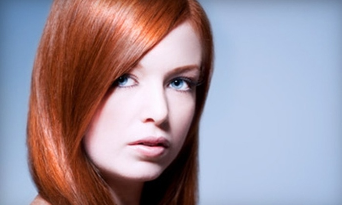Toujours Spa and Salon - Edgewater: $45 for a Haircut and Kérastase Conditioning Treatment at Toujours Spa and Salon