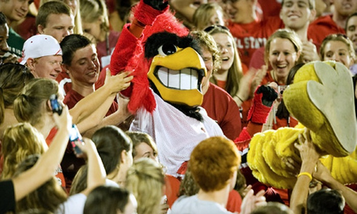 Ball State University - Multiple Locations: $19 for Two Tickets to Football Game Against Toledo on November 26 and Basketball Game Against Butler on December 10 in Muncie ($64 Value)