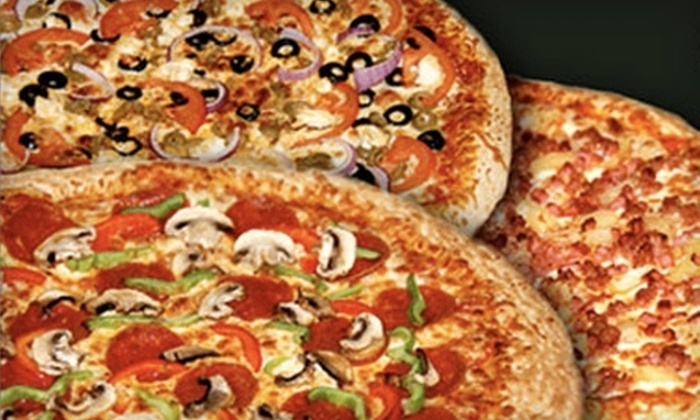 Comino's Pizza & Wings - Toronto (GTA): $8 for Two Medium Three-Topping Pizzas at Comino's Pizza & Wings in Whitby ($18.06 Value)