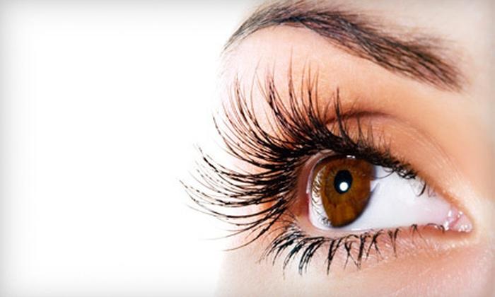 Cut Above Salon - Brampton: 25, 40, or 55 Eyelash Extensions Per Eye at Cut Above Salon in Brampton (Up to 77% Off)