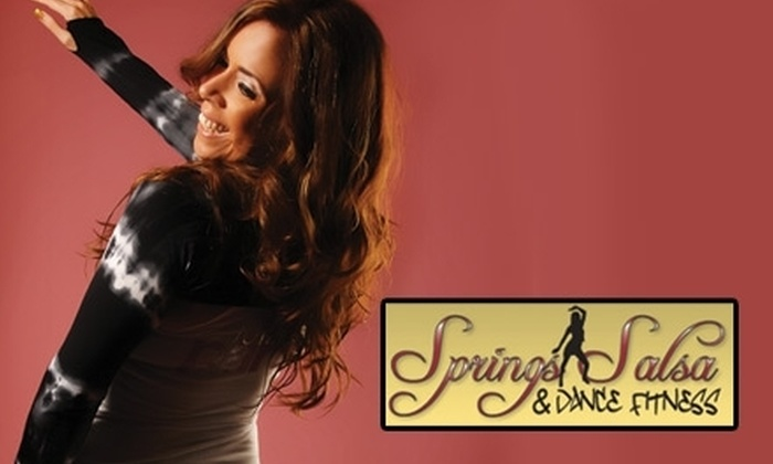 Springs Salsa & Dance Fitness - Multiple Locations: $39 for Five Weeks of Unlimited Group Classes at Springs Salsa & Dance Fitness ($99 Value)