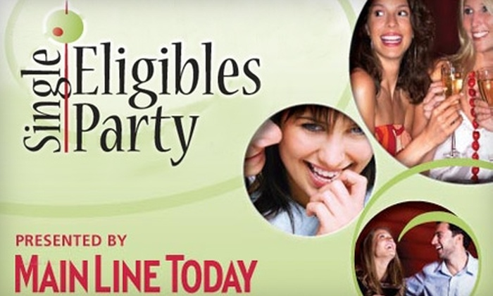 """Main Line Today - Radnor: $12 for One Entrance to """"Main Line Today"""" Single Eligibles Party on November 18 ($25 Value)"""