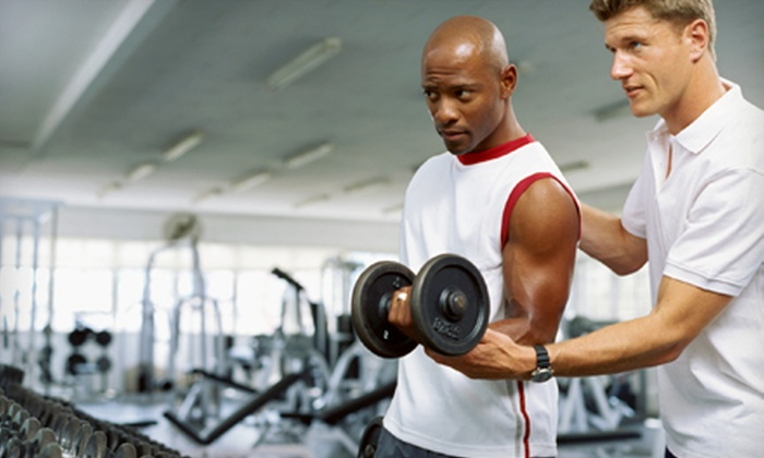 Staggs Fitness - Kalamazoo: $55 for Personal-Training Package at Staggs Fitness ($182 Value)