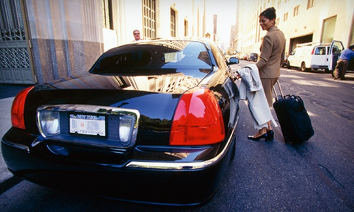 Elite Worldwide Transportation: Ride to or from Airport in Luxury Sedan from Elite Worldwide Transportation (Up to 57% Off). Two Options Available.