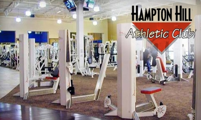 Hampton Hill Athletic Club - Southeastern Columbia: $39 for a One-Month Individual Membership to Hampton Hill Athletic Club ($80 Value)
