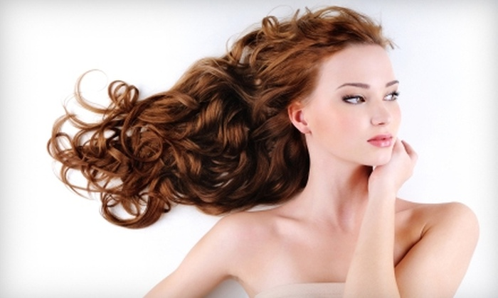 Jeunesse Salon & Spa Suites - Northgate: $35 for European Shampoo, Deep Conditioning, Haircut, Blow-Dry, and Style at Jeunesse Salon & Spa Suites