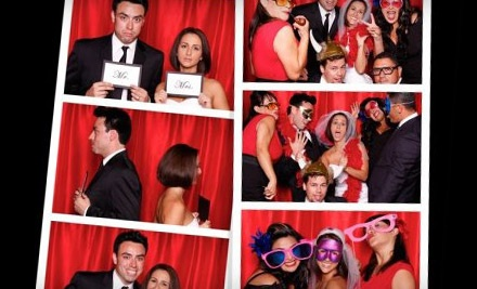 2-Hour Photo Booth Rental (a $798 value) - Velvet Rope Photo Booth in