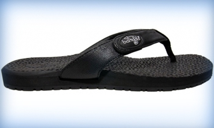 Bandals Footwear: $30 for One Pair of Beach Sandals and Two Extra Interchangeable Bands from Bandals Footwear (Up to $75.92 Value)