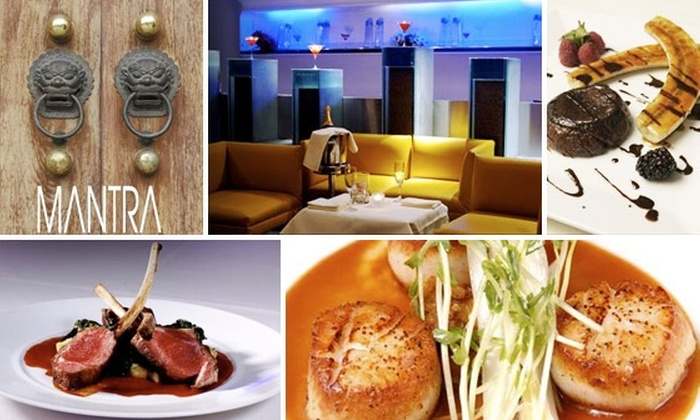 Mantra - Downtown: $20 for $50 Worth of French-Indian Fusion Cuisine at Mantra