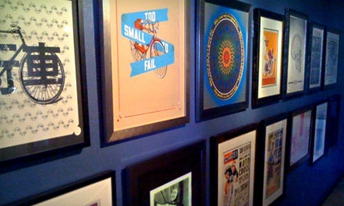 Borealis Arts - Multiple Locations: $60 for $150 Worth of Custom Framing at Borealis Arts