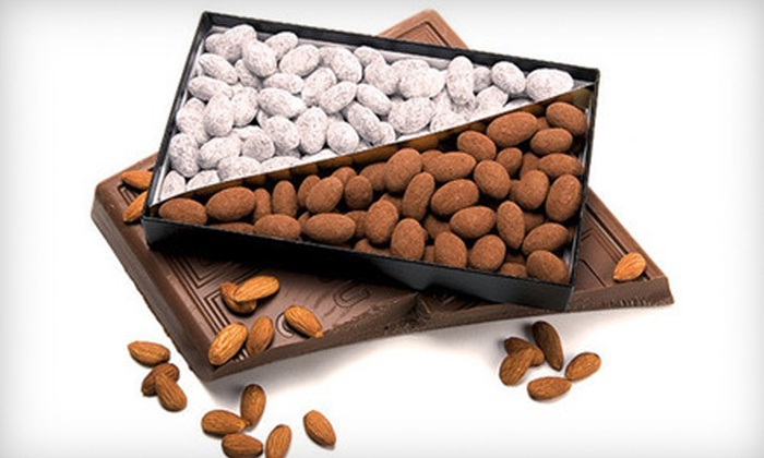 André's Confiserie Suisse - Multiple Locations: $16 for One 20-Ounce Box of Chocolate-Covered Almonds at André's Confiserie Suisse ($32 Value)