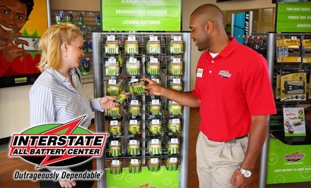 $25 Groupon to Interstate All Battery Center - Interstate All Battery Center in Baton Rouge