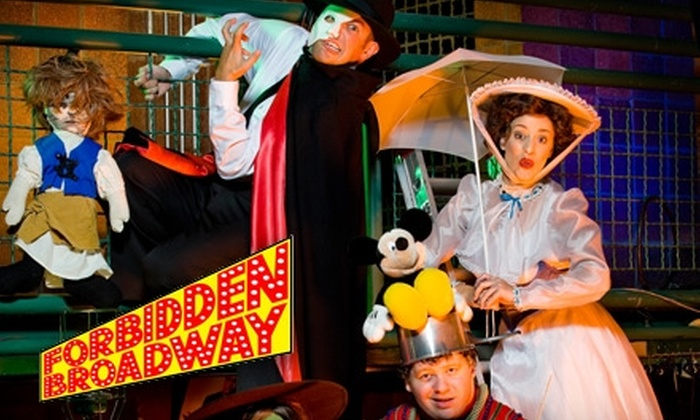 "Straz Center - Downtown: $15 for a Single Ticket to ""Forbidden Broadway"" at the Straz Center"
