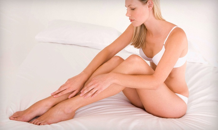 Couture Laser & Skin - Multiple Locations: $99 for One 30-Minute Sclerotherapy Spider-Vein-Removal Session at Couture Laser & Skin ($300 Value)