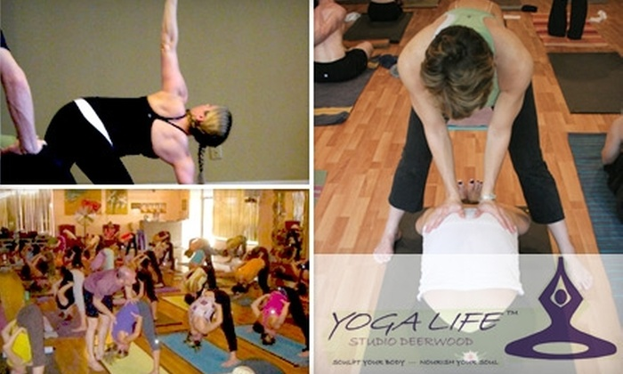 Yoga Life - Royal Lakes: $15 for Two Weeks of Unlimited Classes at Yoga Life ($40 Value)