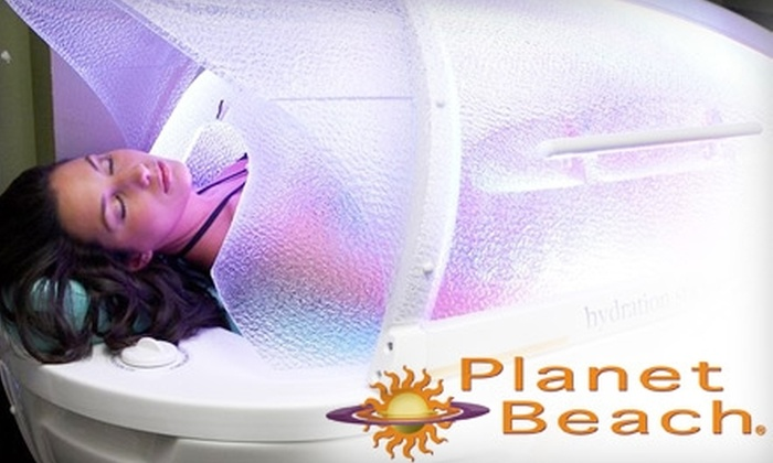 Planet Beach Contempo Spa - Multiple Locations: $39 for One Week of Spa Services at Planet Beach Contempo Spa (Up to $624 Value). Choose One of Four Locations.