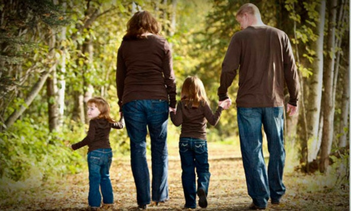 Fitzgerald Photography - Eagle River Heights East: $59 for a Family-Photo-Shoot Package with Prints and Digital Images at Fitzgerald Photography in Eagle River ($225 Value)