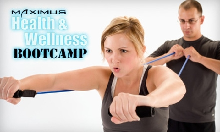 Maximus Health & Wellness - Lexington-Fayette: $35 for One Month of Unlimited Boot-Camp Classes at Maximus Health and Wellness Training ($197 Value)