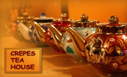 $20 Groupon to Crepes Tea House - Crepes Tea House in West Springfield