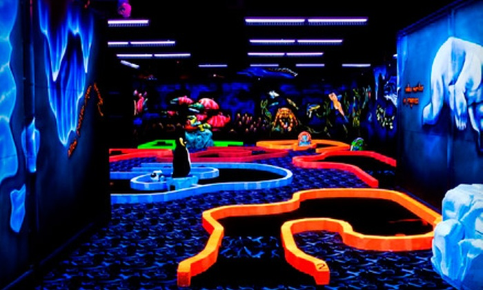 Putters Wild - Taku / Campbell: $12 for a Miniature-Golf Outing for Two at Putters Wild (Up to $24 Value)