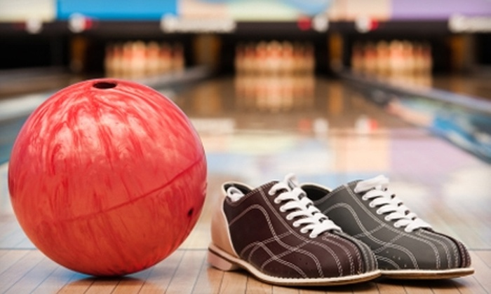 Royal Pin - Multiple Locations: $15 for Six Games of Bowling and Two Shoe Rentals at Royal Pin (Up to $30.30 Value)