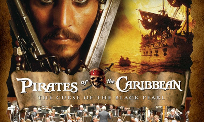 """""""Pirates of the Caribbean: Live in Concert"""" - Clowes Memorial Hall at Butler Arts Center: Two Tickets to """"Pirates of the Caribbean: Live in Concert"""" at Clowes Memorial Hall on Saturday, March 24 ($130.60 Value)"""