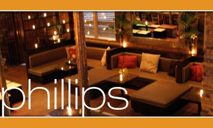 Phillips Bar & Restaurant - East Carrollton: $15 for $35 Worth of Food, Drinks, and Bottle Service at Phillips Bar & Restaurant