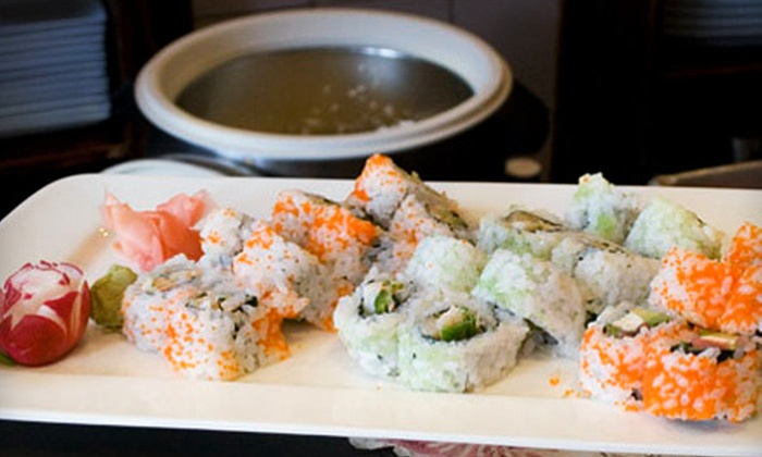 Plum House - Rochester: $15 for $30 Worth of Sushi and Japanese Fare at Plum House