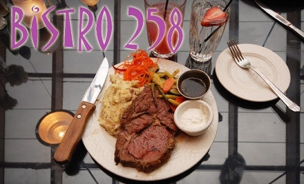 Bistro 258: $30 Groupon for Dinner - Bistro 258 in Ogden