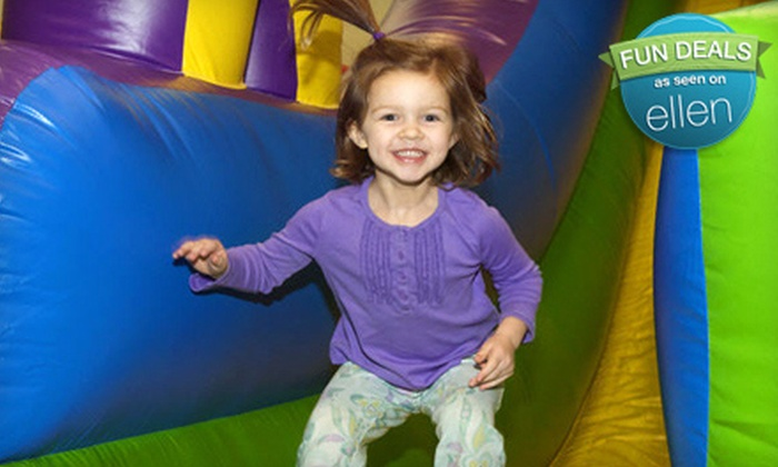 Jumping Jax - Overland Park: $12 for Three Bounce-and-Play Sessions at Jumping Jax in Overland Park (Up to $24 Value)
