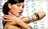 Tangles Hair Designers & Day Spa - Irondequoit: $15 for a Shellac Manicure at Tangles Hair Designers & Day Spa ($30 Value)