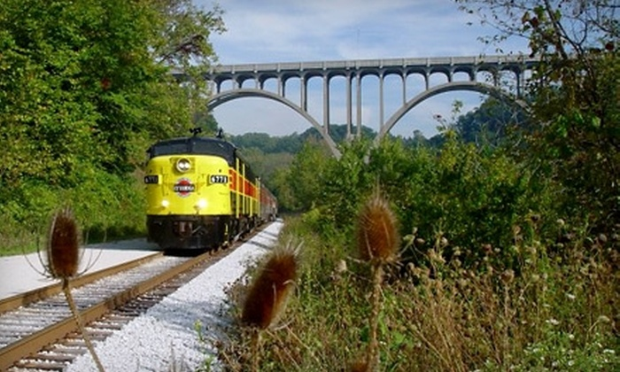 Cuyahoga Valley Scenic Railroad - Valley View: $7 for One Train Ticket to the Cuyahoga Valley Scenic Railroad (Up to $15 Value)
