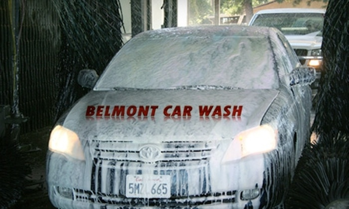 Belmont Car Wash - Sunnyside: $11 for a Deluxe Car Wash (Up to $21.99 Value) or $7 for a Full-Service Car Wash ($14.99 Value) at Belmont Car Wash