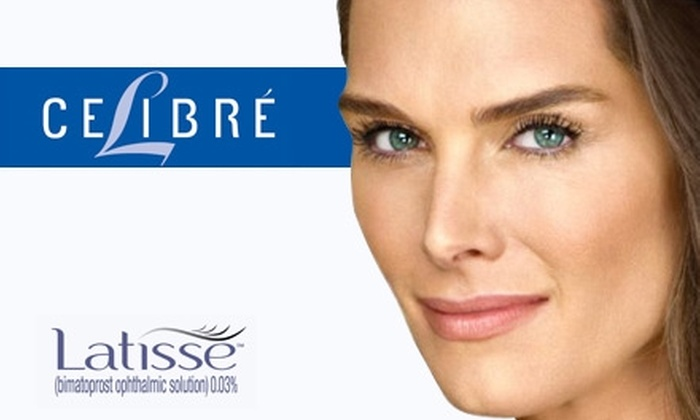 Celibre Medical - Multiple Locations: $99 for a 10–12-Week Supply of Prescription Eyelash-Lengthener Latisse and Prior Consultation from Celibre Medical