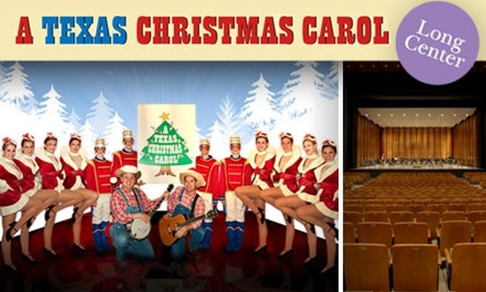 """A Texas Christmas Carol - Bouldin: $25 Ticket to """"A Texas Christmas Carol"""" at The Long Center ($50 Value). Buy Here for January 2 at 7:30 p.m. See Below for Additional Dates and Times."""