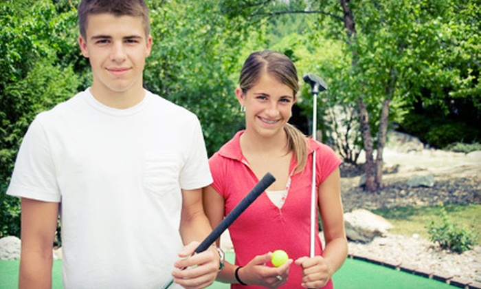 East Fishkill Golf Center - North Stamford: Mini-Golf-Themed Birthday Party for 10 or 15 Children at East Fishkill Golf Center in Hopewell Junction (Up to 55% Off)